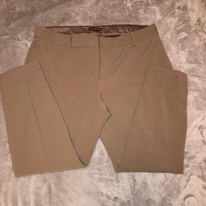 Express tan dress pants